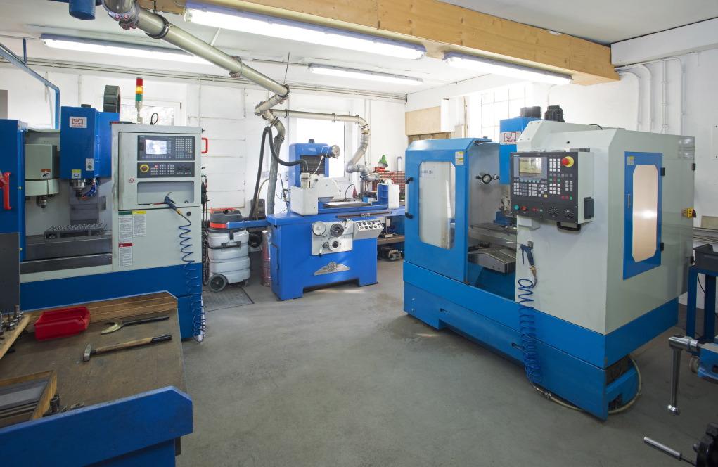 CNC - Frästechnik und Schleiftechnik